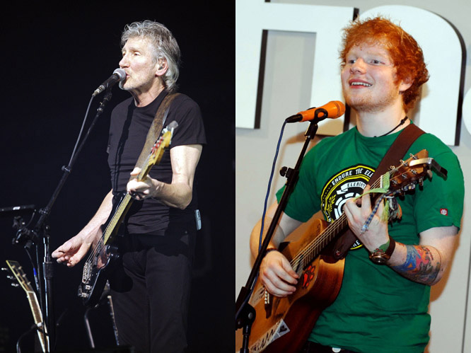 Pink Floyd and Ed Sheeran: Sheeran has revealed he is teaming up with Pink Floyd at the Olympics closing ceremony (and not, as previously expected, The Who). The ginger-haired singer and psychedelic rock band seem an odd combination, but if it&#39;&#39;s anything like the opening ceremony then we won&#39;&#39;t be disappointed.